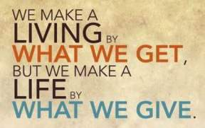 we-make-a-life-by-what-we-give