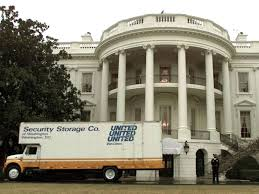 Trump Moving Van