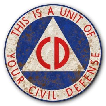 Civil Defense sign 2