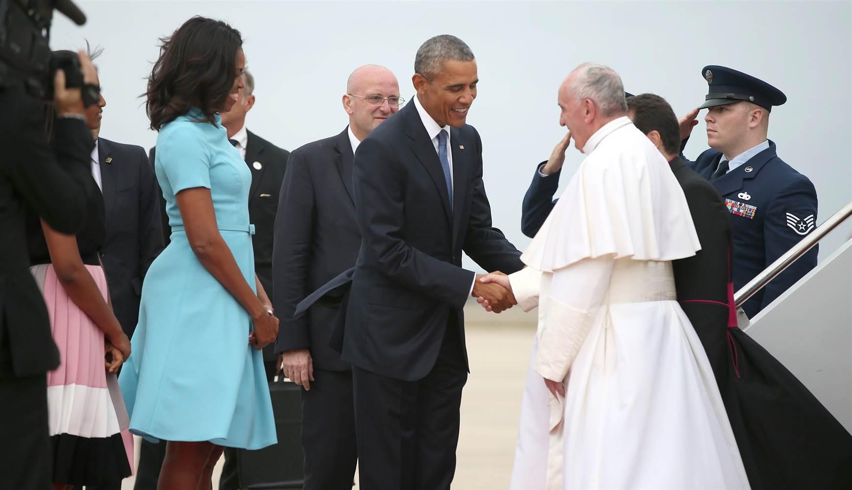 Pope visit