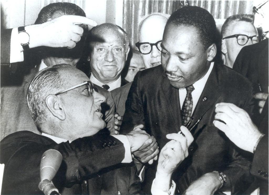 JBJ and MLK 1964