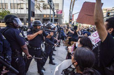 Police menacing
